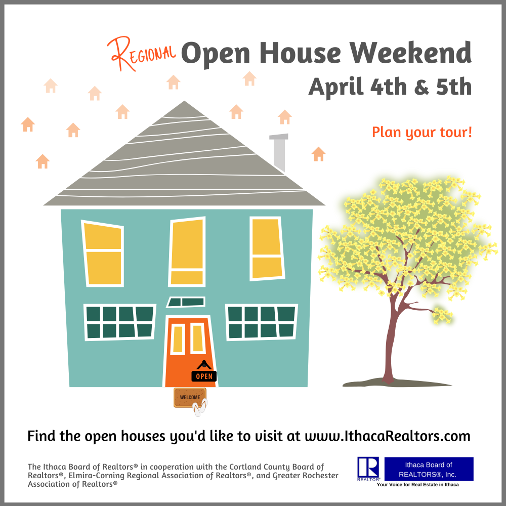 Ithaca 2020 Regional Open House Weekend Ad