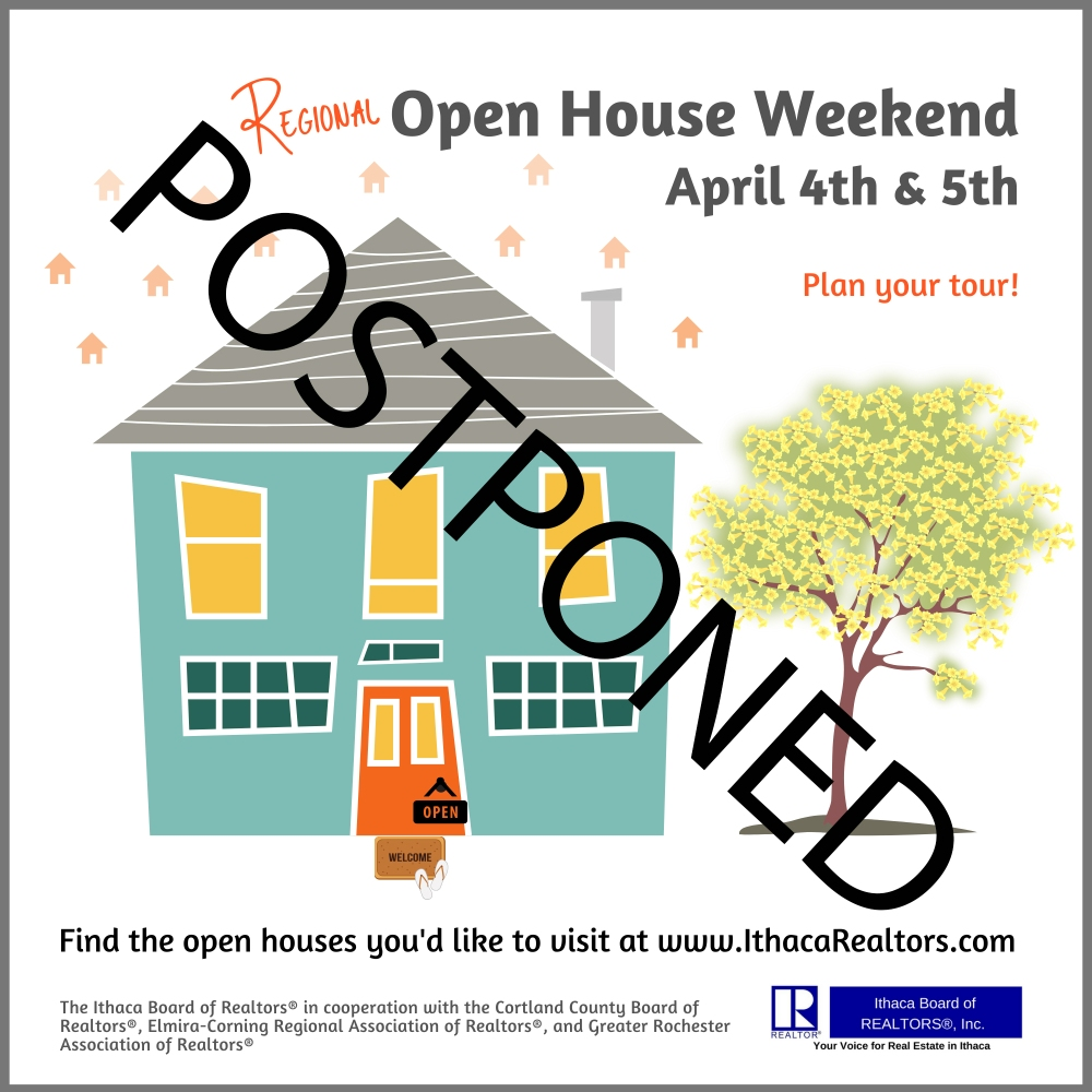 POSTPONED 2020 Regional Open House Weekend Ad